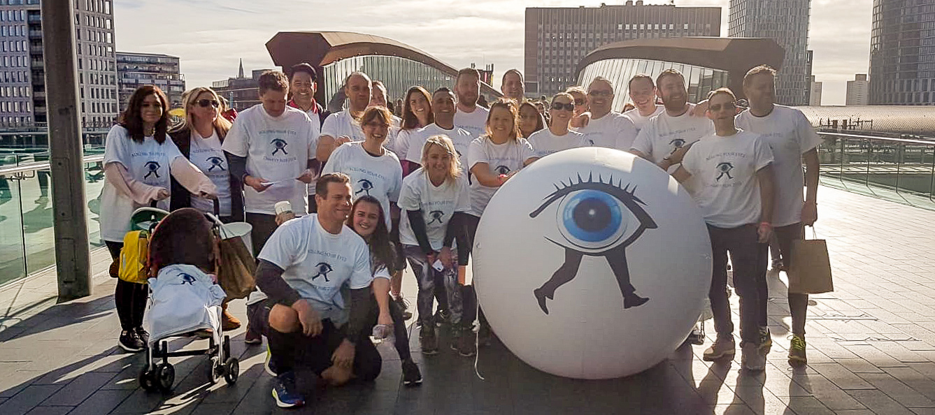Scope Ophthalmics Hosts the 'Roll Your Eyes' London Ultra Marathon in Aid of the Royal National Institute of Blind People (RNIB)